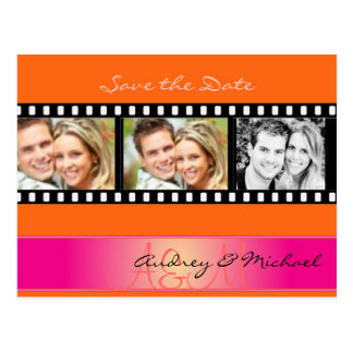 Save the Date postcards insert your photos