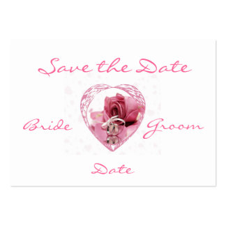 Save the Date Profile Card Business Card Templates