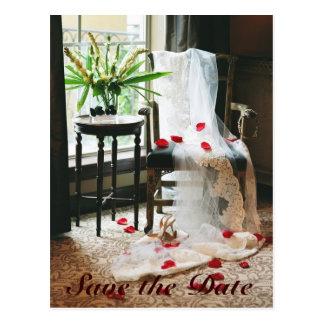 Save the Date Profile Postcard