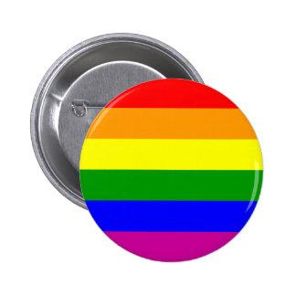 Save the Date/Rainbow Wedding/Gay Pride 6 Cm Round Badge