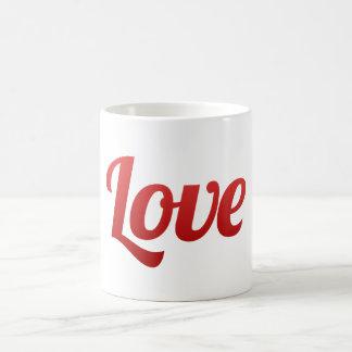 Save the Date Red Love Wedding Coffee Mugs