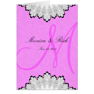 Save the date RSVP weddining vitation card A011