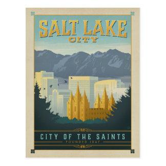 Save the Date | Salt Lake City, UT Postcard