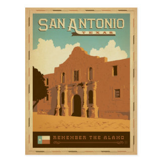 Save the Date | San Antonio, TX Postcard