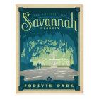 Save the Date   Savannah, GA Postcard