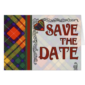 Tartan Save The Date Gifts T Shirts Art Posters