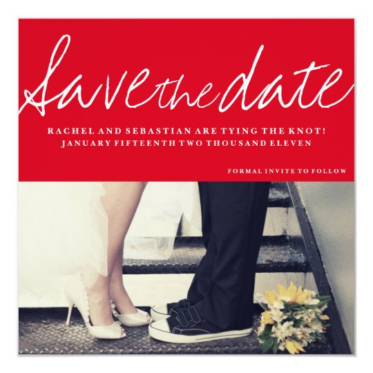 SAVE THE DATE - SIGNATURE LOVE CARD