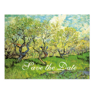 save the date,spring weddings postcard