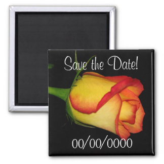 Save the Date! Square Magnet