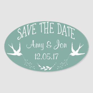 Save the Date Sticker