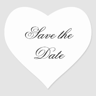 """Save the Date"" Stickers"
