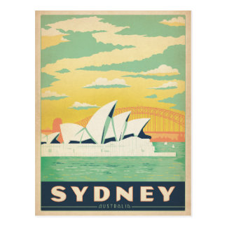 Save the Date | Sydney, Australia Postcard