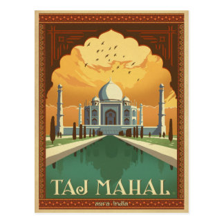 Save the Date | Taj Mahal, India Postcard