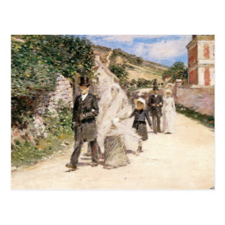 Save the Date! The Wedding March by Robinson Postcard