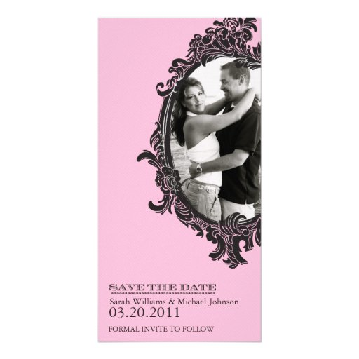 Save the Date (Today's Best Award) Photo Greeting Card