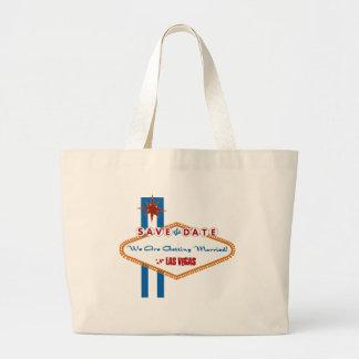 Save the Date Jumbo Tote Bag
