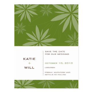 SAVE THE DATE :: vitality fern Postcard