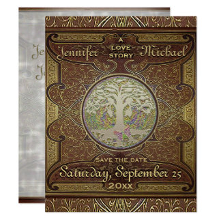 Save the Date - Wedding Love Story Romantic Card