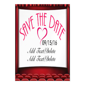 Save the Date Wedding / Special Occasion Magnet Magnetic Invitations
