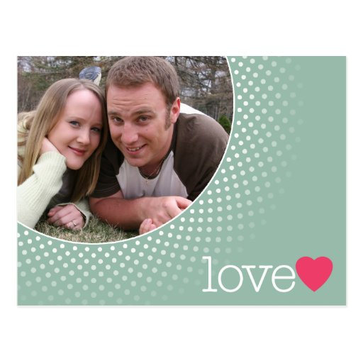 Save the Date with Photo Postcards