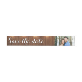 Save the Date Wraparound Address Label