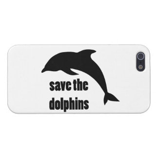 Save the Dolphins Case For iPhone 5