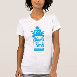 Save the Drama for the Lama – bright blue Shirt
