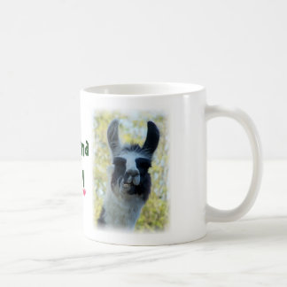 Save the Drama for Yo Llama Coffee Mug