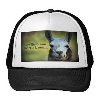 Save The Drama For Your Llama Cap