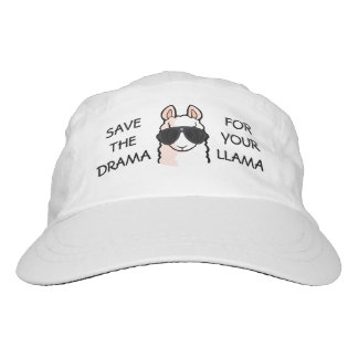 Save the Drama for Your Llama Hat