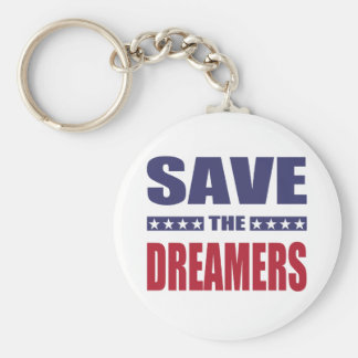 Save the dreamers key ring