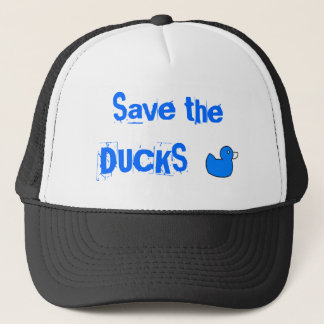 Save the Ducks Trucker Hat