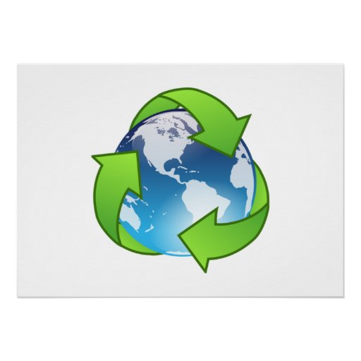 Save the Earth and Recycle Print