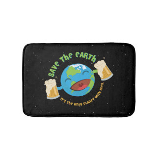 Save The Earth Bath Mat