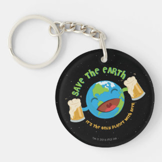 Save The Earth Key Ring