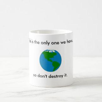 Save the earth mug