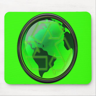 Save the Earth-Recycle-GoGreen Mouse Pad