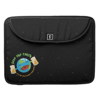 Save The Earth Sleeve For MacBooks