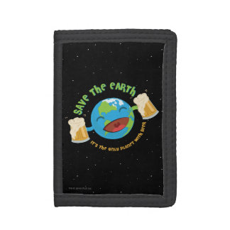 Save The Earth Tri-fold Wallet