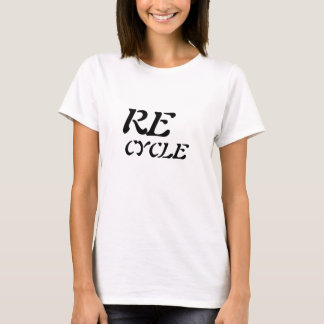 SAVE THE EARTH tshirt Recycle Happy
