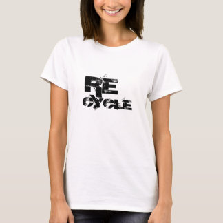 SAVE THE EARTH tshirt Recycle Relaxed Print