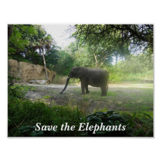 Save the Elephants #2 Poster