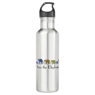 Save the Elephants 710 Ml Water Bottle
