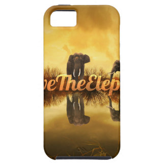 Save The Elephants Design iPhone 5 Cases
