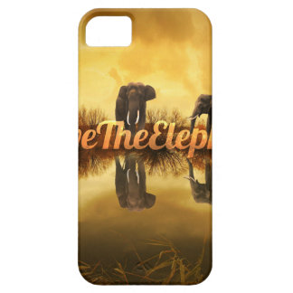 Save The Elephants Design iPhone 5 Cover
