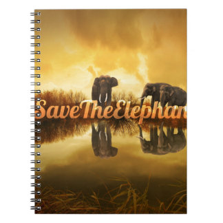 Save The Elephants Design Notebook