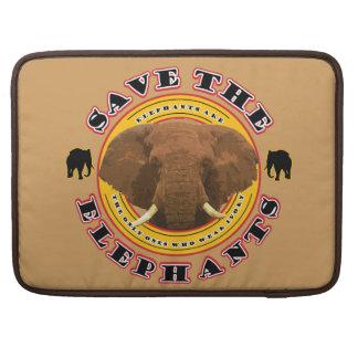 Save-The-Elephants MacBook Pro Sleeve