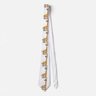 Save the Giraffes Tie