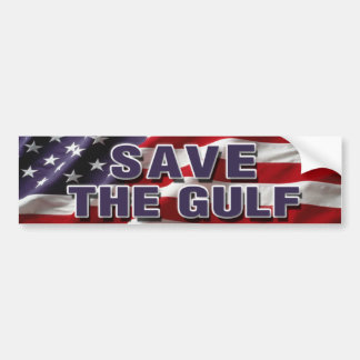 SAVE THE GULF Bumper Sticker