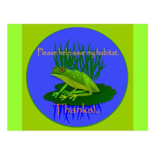 Save the Habitat Postcard